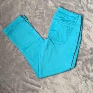 Mossimo blue skinny jean